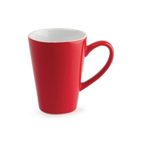 Olympia Cafe Latte Cups Red 340ml 12oz