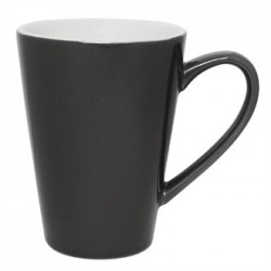 Olympia Cafe Latte Cups Charcoal 340ml 12oz