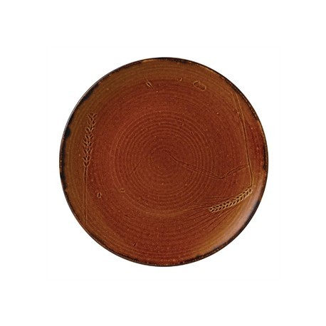 Dudson Harvest Plate Brown 162mm