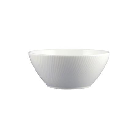 Dudson Twist Oatmeal Bowl White 165mm