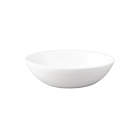 Dudson Neo Deep Oval Bowl White 165mm