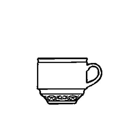 Churchill Chateau Blanc Mocha Cups 99ml