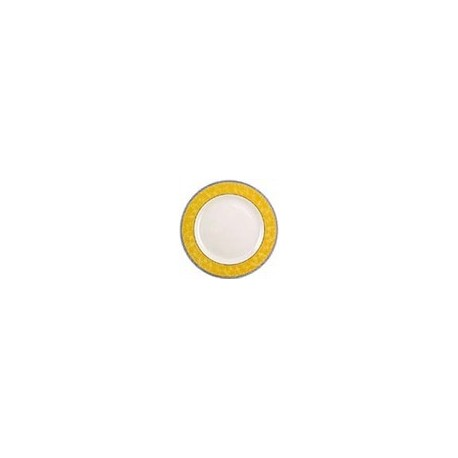 Churchill New Horizons Marble Border Classic Plates Yellow 280mm