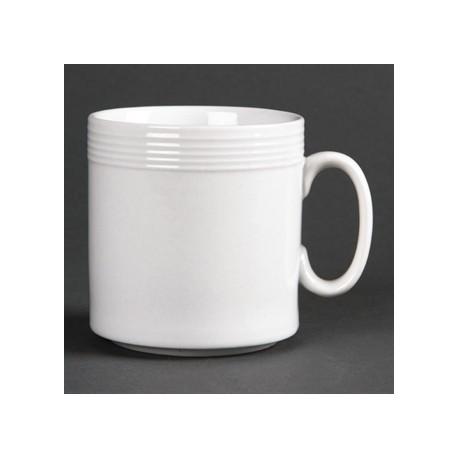 Olympia Linear Mugs 220ml 8oz