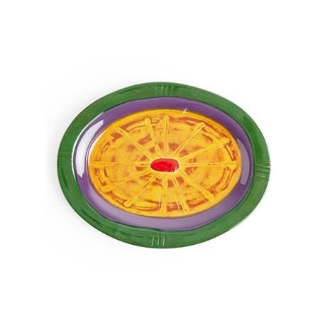 Steelite Hot Cha Cha Oval Melamine Platter 220mm