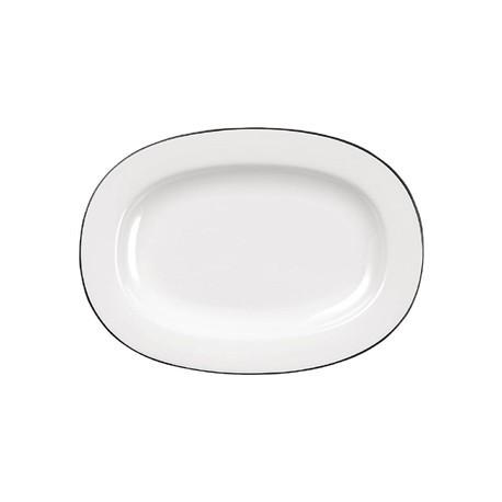 Churchill Alchemy Mono Oval Dishes 280mm