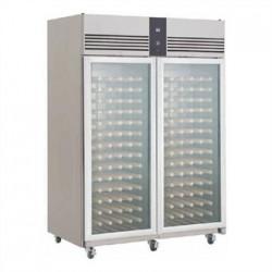 Foster EcoPro G2 2 Glass Door 1350Ltr Wine Cabinet Fridge EP14400W 10/215
