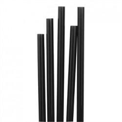 Fiesta Short Black Cocktail Stirrer Straws