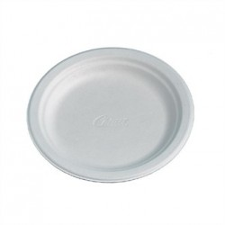 Disposable Round Plate White 170mm