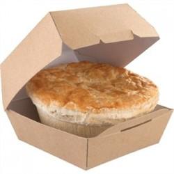 Disposable Kraft Burger Boxes Standard