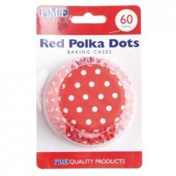PME Cupcake Baking Cases Polka Dot