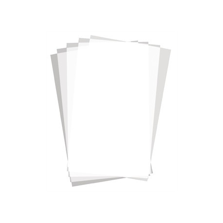 Greaseproof Paper Plain Print Rectangle