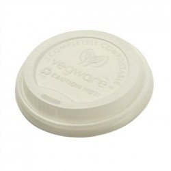 Vegware Hot Cup Lids 12 and 16oz