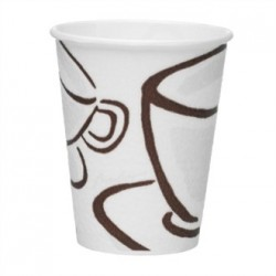 Benders Milano Disposable Barrier Hot Cups 8/9oz