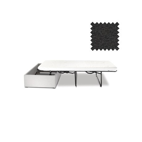 Jay-Be Contract Footstool Bed in Charcoal Colour