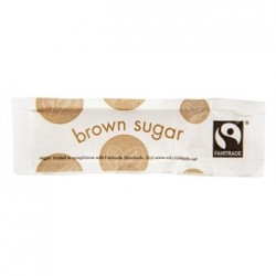 Vegware Fairtade Brown Sugar Sticks