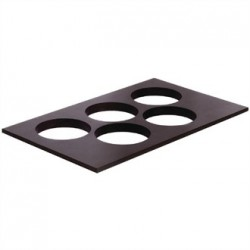 APS Frames Dark Wood 1/1 GN Bowl Board