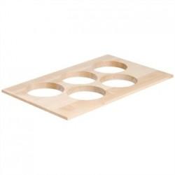 APS Frames Maple Wood 1/1 GN Bowl Board