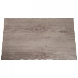 APS Wood Effect Melamine Tray GN 1/1