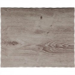 APS Wood Effect Melamine Tray GN 1/2