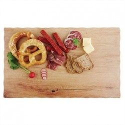APS Oak Effect Melamine Tray 1/1GN