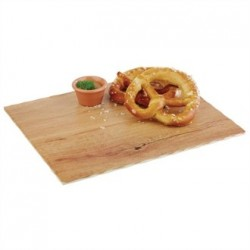 APS Oak Effect Melamine Tray 1/2GN
