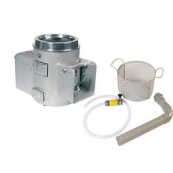 Metcalfe Potato Rumbler Aluminium NA15 with Installation Kit