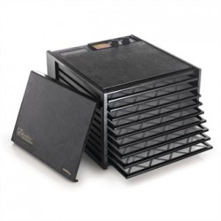 Excalibur 9 Tray Black Dehydrator with Timer 4926TB