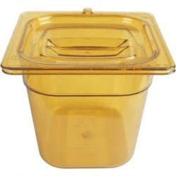 Rubbermaid Polycarbonate 1/6 Gastronorm Container 150mm