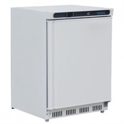 Polar Under Counter Fridge White 150Ltr