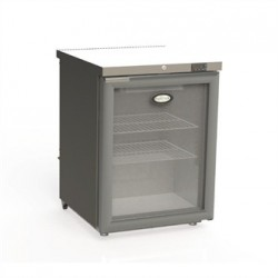 Foster 1 Glass Door 150Ltr Under Counter Fridge with Light HR150 13/109
