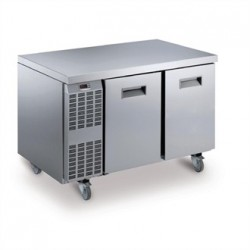 Electrolux Benefit line Refrigeration Counter 2 Door 265Ltr St/St Castors RCSN2M2UK