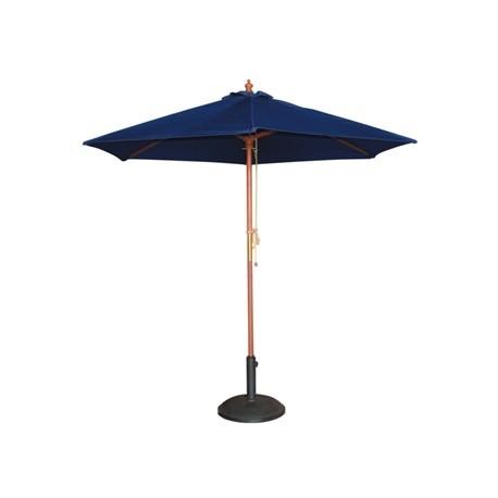 Bolero Tall Round Parasol 3m Diameter Navy Blue