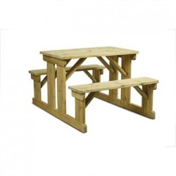 Bolero Walk in Picnic Bench 6 seater