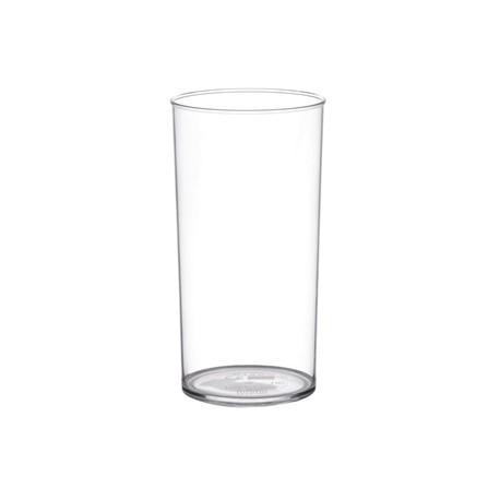 Polystyrene Hi Ball Glasses 285ml CE Marked