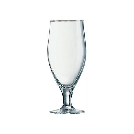 Arcoroc Cervoise Stemmed 2/3 Pint Beer Glasses 380ml CE Marked