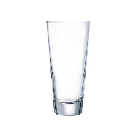 Arcoroc Beaming Conical Beer Glasses 380ml CE Marked