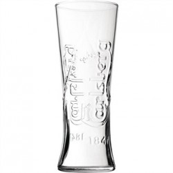 Utopia Carlsberg Nucleated Pint Glass CE Marked