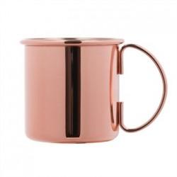 Handled Copper Mug 500ml