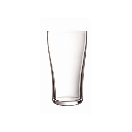 Arcoroc Ultimate Nucleated Beer Glasses 285ml CE Marked