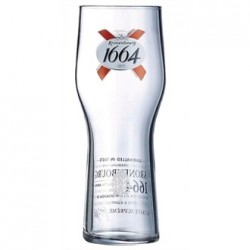 Arcoroc Kronenbourg 1664 Beer Glasses 570ml CE Marked