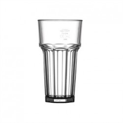 BBP Polycarbonate American Hi Ball Glasses Lined Half Pint CE Marked at 285ml