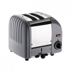 Dualit Vario Classic Toaster 2 Slot Cobble Grey 20403
