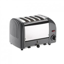 Dualit Vario Classic Toaster 4 Slot Cobble Grey 40514
