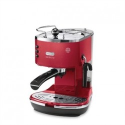 Delonghi Icona Micalite Espresso Coffee Maker Red
