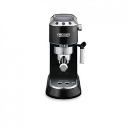 Delonghi Dedica Pump Espresso Coffee Maker with Milk Frother. Black