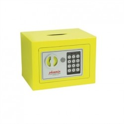 Phoenix Yellow Compact Office Safe