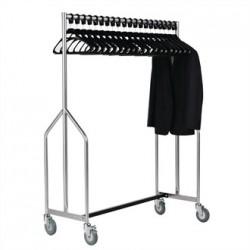 Heavy Duty Z Garment Rail With 20 Hangers