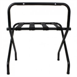 Bolero Black Luggage Rack