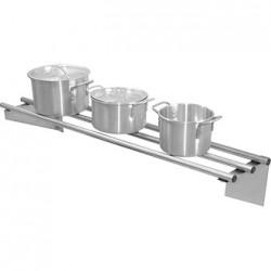 Vogue Stainless Steel Wall Shelf 1200mm